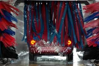 Automobile washing