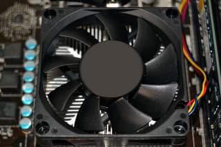 Electromechanical fans and heatsinks