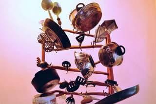 Kitchen utensils and silverware