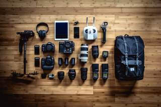 Camera and photography equipment shop