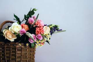 Flowers and bouquet shop