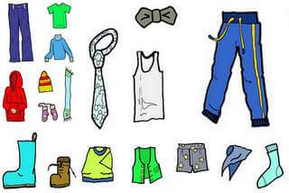 All ready made garments